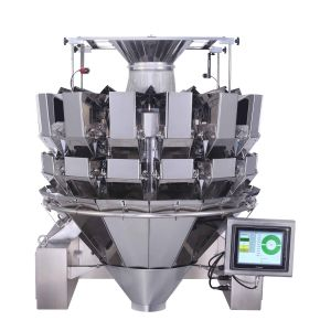 14 Heads Double Door Multihead Combination Weigher for Snacks Jy-14hdst pictures & photos