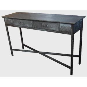 Antique Metal Rect. Table Galvanized Antiuqe Furniture pictures & photos