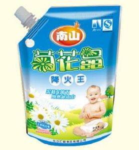 Printed Standing Spout Bag for Laundry Detergent/Shampoo/Liquid Soap pictures & photos