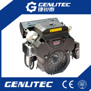 19HP Air Cooled 2 Cylinder 678cc Motorcycle Gasoline/Petrol Engine pictures & photos