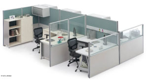 Customized Office Furniture Modern Functional Wood Partition pictures & photos