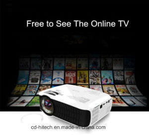 Multi-Function Mini 3D Projector with WiFi for Home, Business and School