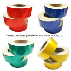3100 Pet Untearable Material Reflective Prestriped Barricade Tape (C1300-S) pictures & photos
