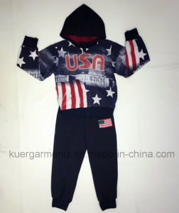 Boy Children′ S Sport Suit for Kids Clothing pictures & photos
