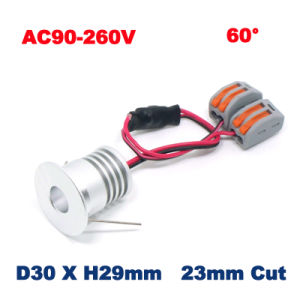 3W LED Lamp 23mm Mini Light pictures & photos