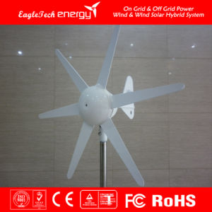 200W Wind Turbine Generator Solar Hybrid Streetlight Wind Driven Generator Wind Mill pictures & photos
