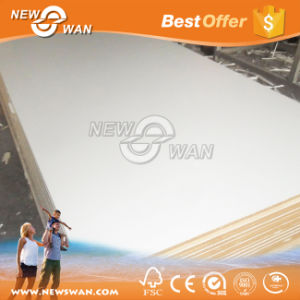Glossy White Double Sided Melamine MDF Board pictures & photos