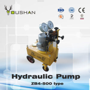 High Pressure Hydraulic Oil Pump Matched with Hydraulic Jacks (ZB4-500)
