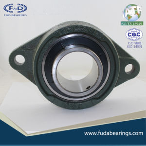 UCFL217 Chrome Steel Grey Cast Iron Housing Pillow Block Bearing for Agricultural Machinery pictures & photos
