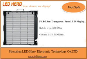 500*500mm Transparent Rental Display with Light Weight pictures & photos