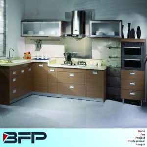 Wood Cupboard Design Modern Kitchen Cabinet pictures & photos