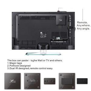 Amlogic S905X 2GB 16GB Android TV Box X96 DVB S2 Set Top Box pictures & photos
