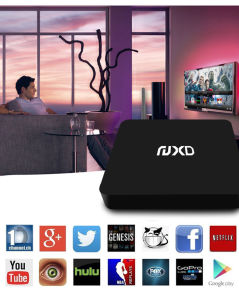 Hot Selling X6 TV Box with Quad Core Chip Set S905 Support H. 265 and 4k pictures & photos