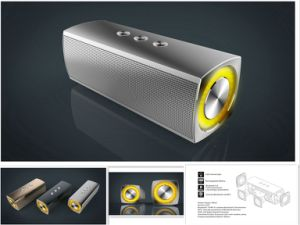 Wholesale Multimedia Wireless Bluetooth Mini Portable Speaker pictures & photos