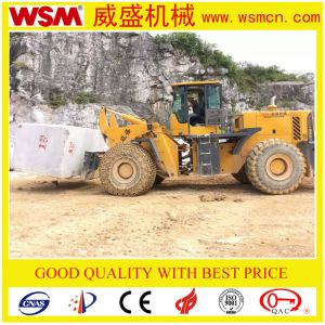 China Manufacturer High Quality Forklift Wheel Loader for Block Load pictures & photos