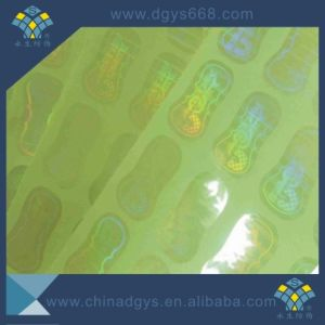 Customized Design Transparent Hologram Vinyl Sticker pictures & photos