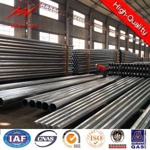 Hot DIP Galvanized Tubular Self Supporting Antenna Pole pictures & photos