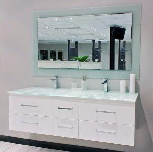 Modern Australia Style Elegant White Color Bathroom Vanity pictures & photos