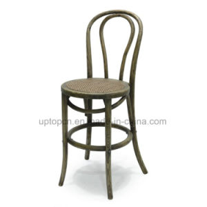 Round Armless Solid Wood Chair for Restaurant and Home (SP-EC459) pictures & photos