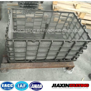 Heat Resistant and Wear Resistant Silica Sol Casting Basket for Furnace pictures & photos