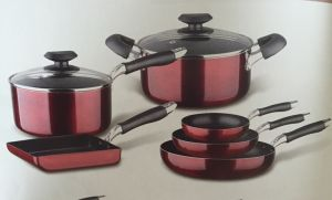 Non-Stick Coating Aluminium Cookware B001 pictures & photos
