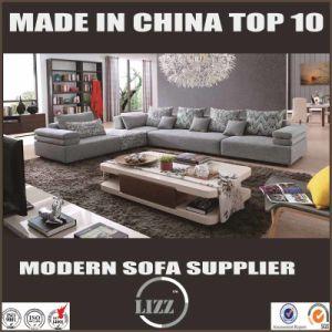 Latest Desigen Modural L Shape Fabric Sofa pictures & photos