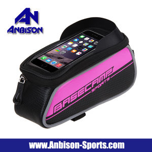 Outdoor MTB Bicycle Beam Bag with 6.0 Inch Phone Touch Screen Pouch Bag pictures & photos