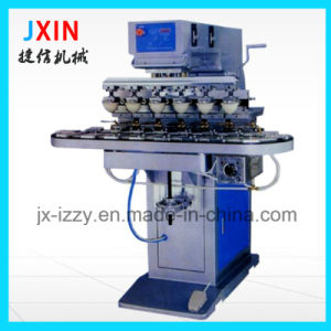6 Color Manual Pad Printing Machine for Plastic Cup Bottle pictures & photos