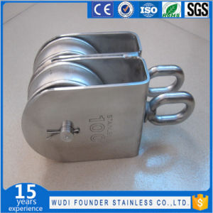 Stainless Steel Twin Swivel Block pictures & photos