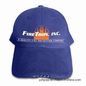 Custom Embroidery Caps Burshed Cotton Promotional Caps Hat Snapback Cap Baseball Caps LED Lighter Cap pictures & photos
