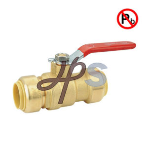 Low Lead Brass Push Fit Ball Valve pictures & photos