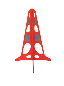 Reflective Plastic Safety Triangle Cone pictures & photos
