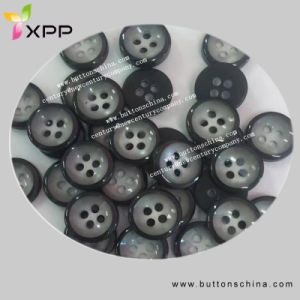 Fashion Shirt Button with Two Color pictures & photos