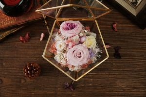 Fashion 100% Natural Real Rose Flower Box for Birthday Gift pictures & photos