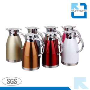 Double Wall 304 Stainless Steel Kettle & Tea Kettle pictures & photos