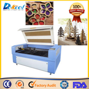 Double Heads Small Wood Crafts CNC Cutter CO2 Laser Engraving pictures & photos