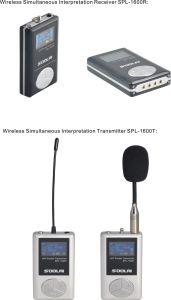 Wireless Conference System/UHF Wireless Microphone pictures & photos