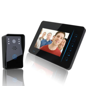 "Wireless 7"" Touch Screen Video Door Phone for Home Security Alarm System pictures & photos"