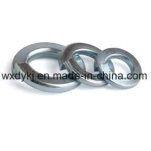 DIN127 Blue White Z/P Carbon Steel Spring Washer pictures & photos