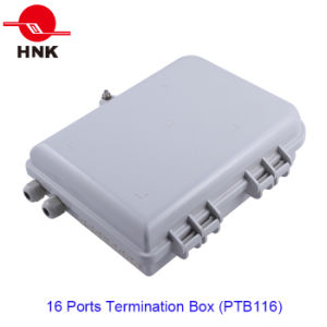 FTTH 16 Fibers Optical Fiber Termination Box for Sc/LC Adapters pictures & photos