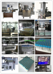 Fully Automatic High Speed Vacuum Blood Collection Tube Assembly Machine pictures & photos