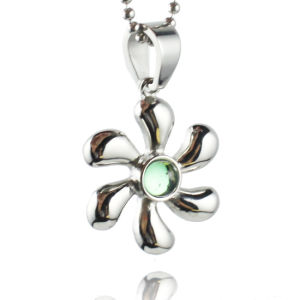 Stainless Steel Fashion Flower Zircon Pendant for Women necklace pictures & photos