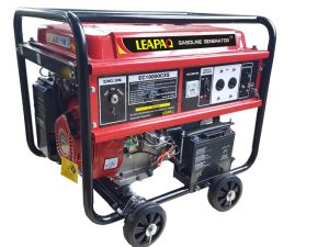 2.8 Kw 9.0 HP Electricity Start Gasoline Generator with Four Wheels pictures & photos