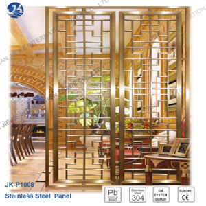 Stainless Steel Metal Laser Cut Partition Wall Decorative Panel pictures & photos