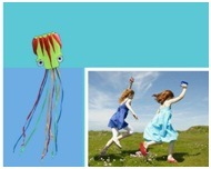Wholesale New 5m Octopus Kite Spring Multicolor Children Kites pictures & photos
