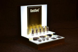 PMMA Cosmetics Display Stand, Color Can Be Customized pictures & photos