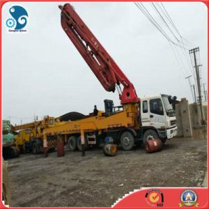 Used Truck Mounted Concrete Pump with 42meters Pump Boom (SANY Brand) pictures & photos