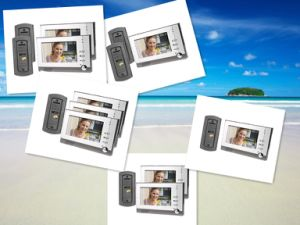 Home Security Tools Video Door Phone Doorbell with 7 Inch Monitor pictures & photos