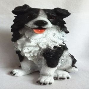 Resin Home Decoration Animal Sculpture Dog Shape Craft pictures & photos
