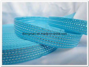 Blue PP Webbing for Bags pictures & photos